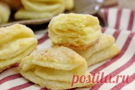 Кулинария>Творожное печенье ГУСИНЫЕ ЛАПКИ