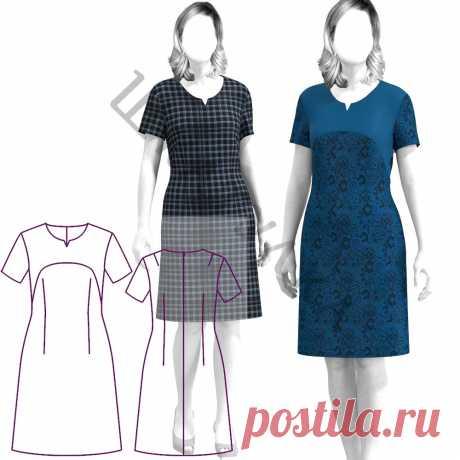 Выкройка платья WD100120   Шкатулка