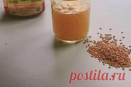 Мед с семенами льна- лучшее средство для сосудов и иммунитета! - Интересный блог