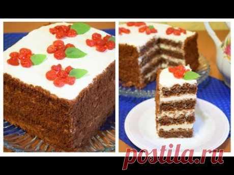 ОБАЛДЕННЫЙ торт 2 кг За 30 минут ✧ БЕЗ ПЕЧЕНЬЯ !!! | Страна Мастеров