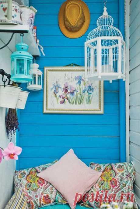 20 идей для оформления балкона