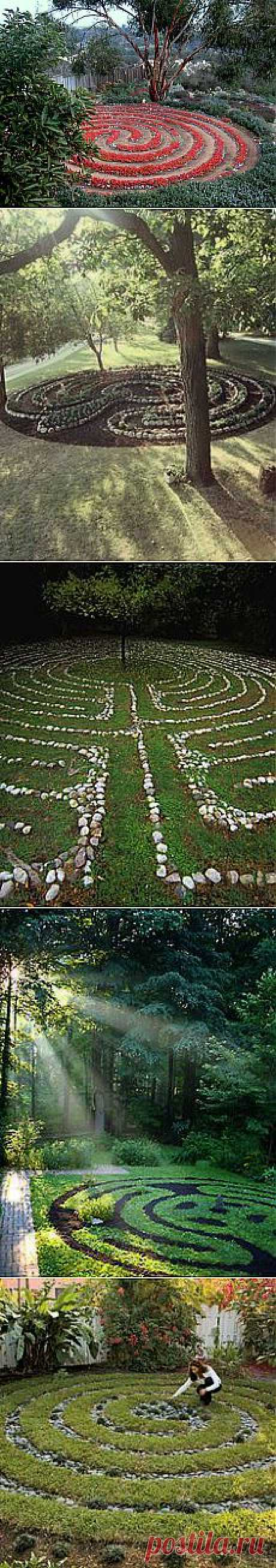 Labyrinth garden. Beautiful!   Art Therapy and Integrative Medicine …
