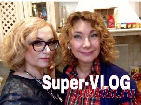 We prepare paste with a tuna, we meet Lena from Rome! Vlog. - YouTube