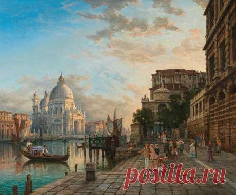 Вернисаж пейзажной живописи XVII-XIX вв. (auction Dorotheum) \102\