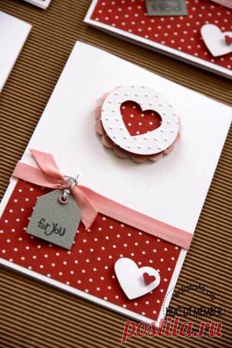 Открытки на День Влюбленных своими руками: 20 идей ~ ALL-DEKOR