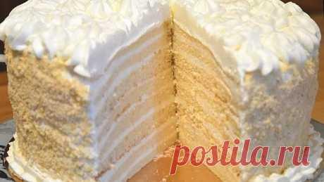 Торт «Молочная девочка» — ну какой же он вкусный! Рецепт торта «Milchmädchen» пришел к нам из Германии. Коржи готовятся на основе сгущенного молока, которое в Германии называлось «Milch Mädchen», т.е. молочная девочка.  Понадобится:  Тесто:  сгущенка — 1 б ( 400 г) яйца — 2 шт мука — 1 ст. (160 г) разрыхлитель — 1 п. (1 ст.л.)  Крем:  сливки 35% — 400 мл сахарная пудра -0,5ст  Приготовление:  Сгущенку и яйца положить в миску. Перемешать венчиком до однородности.  Муку и ра...