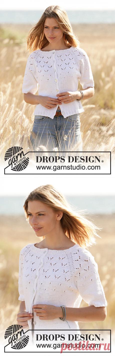 Жакет Flocking Gulls Jacket от DROPS Design - блог экспертов интернет-магазина пряжи 5motkov.ru