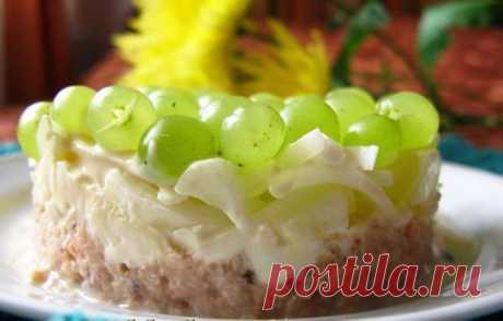 Салат «Тиффани» с копченой курицей - рецепт с фото / Простые рецепты