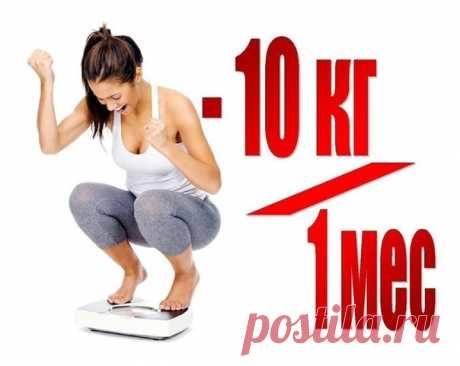 Всего 10 правил: минус 10 кг за месяц / Изысканные кулинарные рецепты