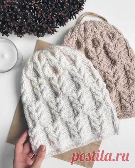 Los gorros alargado | la Labor de punto ideyki | Knit hats, Crochet and Knit crochet