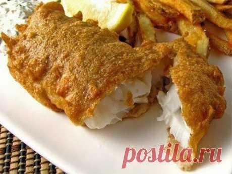Шустрый повар.: 6 рецептов кляра для рыбы.