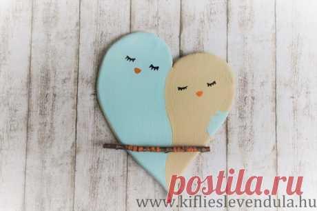 Влюблённые птички