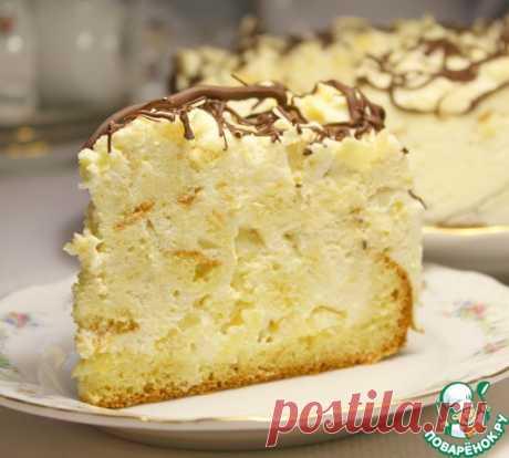 """Торт """"Ананасовый бархат""""-шикарррный, домашний, уютный, легкий, вкусный!"""