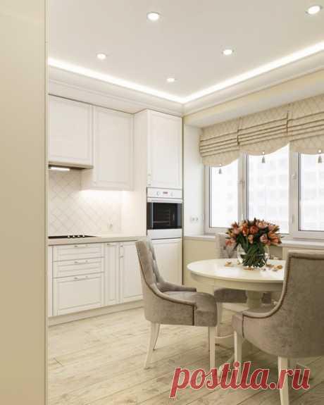 Дизайн кухни 12 кв.м в г. Москве Дизайнер — Вера Камаева