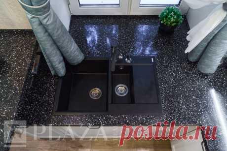 Кухня «Леда Белая 2» на заказ в СПб от производителя PlazaReal
