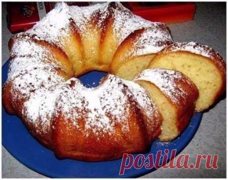 (4) Одноклассники     Быстрый кекс на кефире