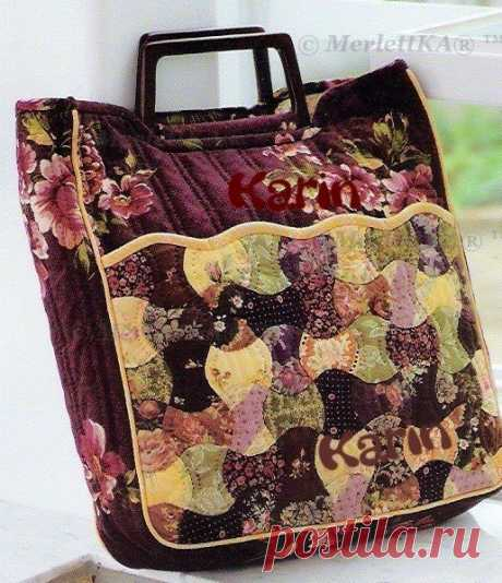 SCRAPPY SEWING - BAGS, RUGS, PLAIDS AND ACCESSORIES FOR KITCHEN \/ All from the world of needlework (I study and I share various technicians and types of needlework)