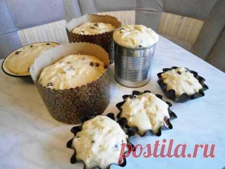 Любимый рецепт заварного кулича - Кулинарное сообщество - Babyblog.ru