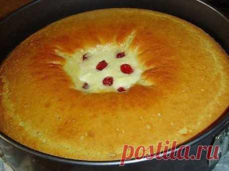 Готовим вкусно - Пирог-ватрушка
