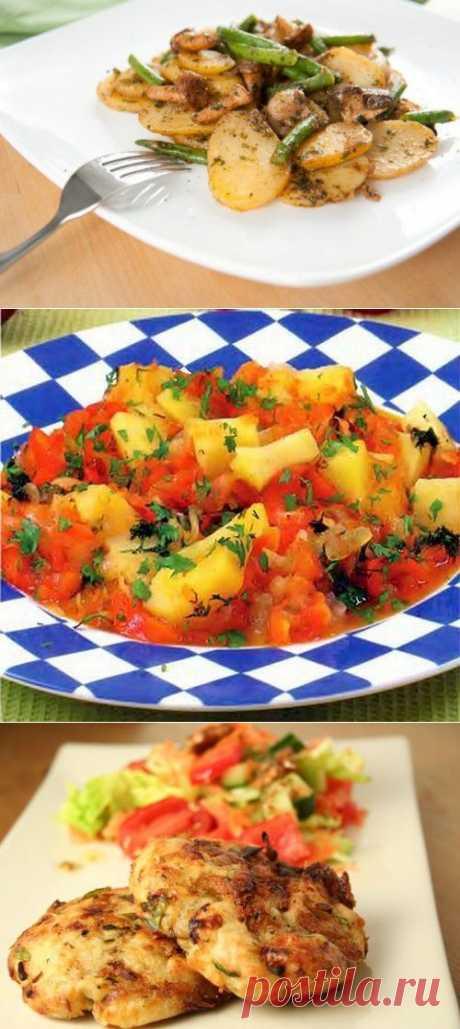 Картофель: 5 лучших постных вторых блюд / Простые рецепты