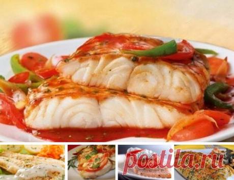 Замечательная подборка рецептов приготовления вкусной рыбы | Четыре вкуса