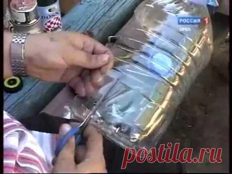 Поделки из пластиковых бутылок. Красивая сова.