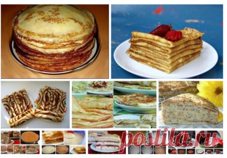 10 best recipes of pancakes for Maslenitsa.