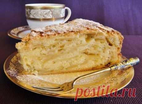 Яблочный пирог «Шарлатанка». Лучший рецепт десерта с яблоками