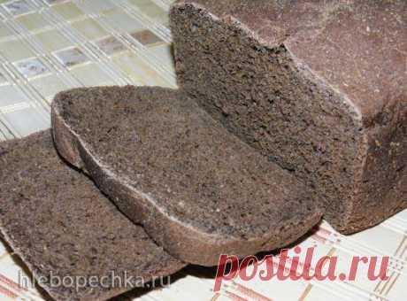 Пшенично-ржаной хлеб на настое чайного гриба (хлебопечка Panasonic CD-2510) - Хлебопечка.ру