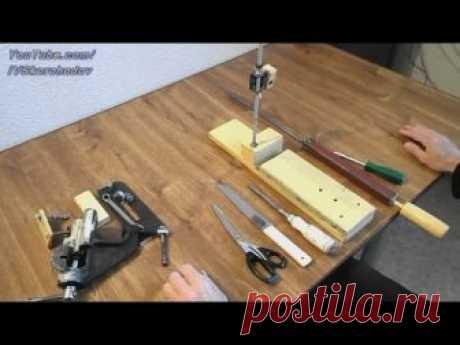 Точилка для ножниц, ножей и стамесок. 1-я часть