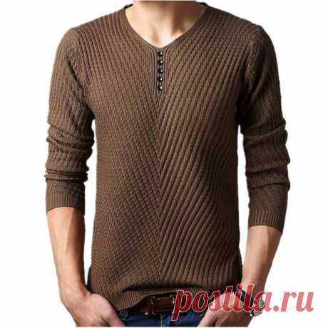 Узор для пуловера спицами