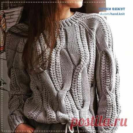 Красивый узор для пула или свитера