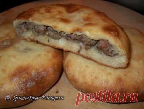 Кубдари - грузинский пирог с мясом - Грузинская кухня