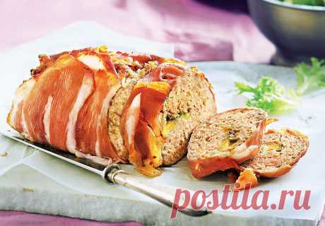 Пряный мясной рулет, курица со шпинатом и жаркое – Lisa.ru