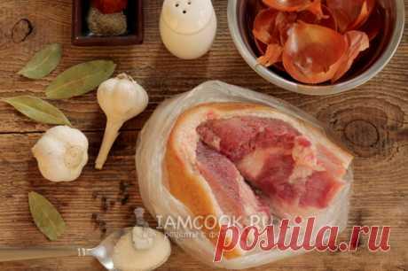 Сало по-гуцульски — рецепт с фото пошагово