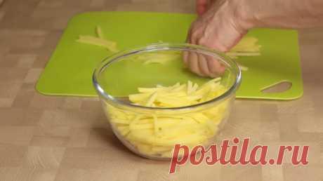 Корейский картофельный салат «Камди ча» рецепт с фото