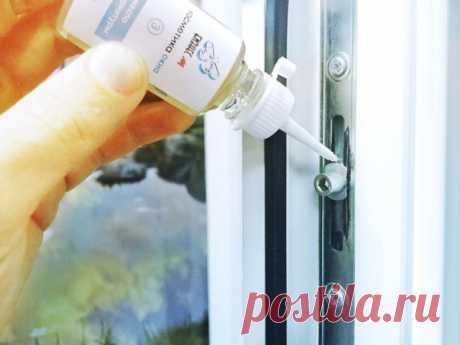 Как, чем и для чего смазывать пластиковые окна?