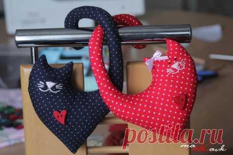 Шьем влюбленных котиков — DIYIdeas