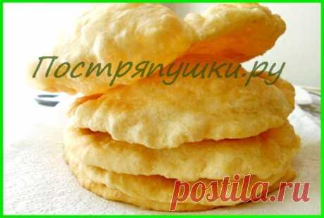 Вкусные домашние рецепты с фото — Постряпушки.ру. Лепешки на воде - рецепт с фото | Постряпушки.ру