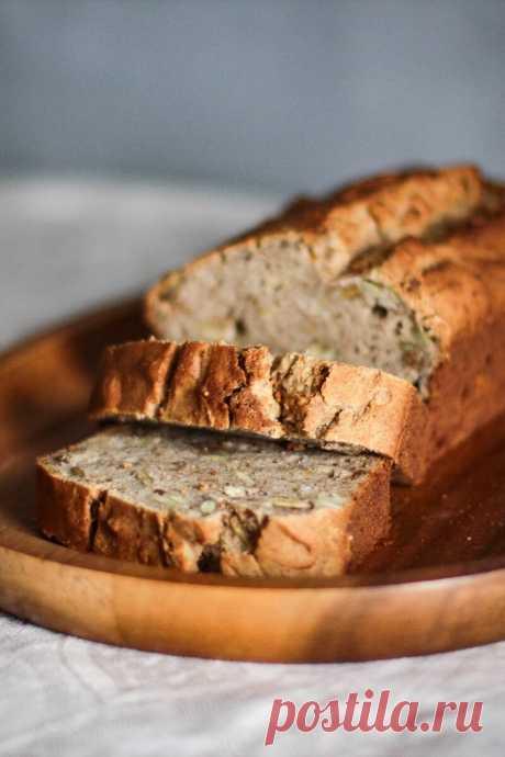 Арахисовый пшеничный хлеб на грушевом соке