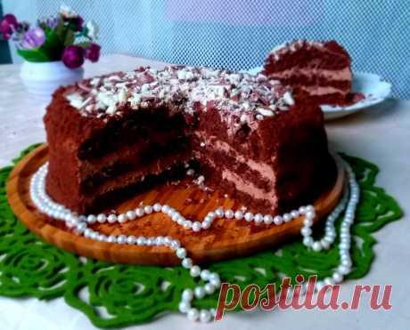 Потрясающий шоколадный торт