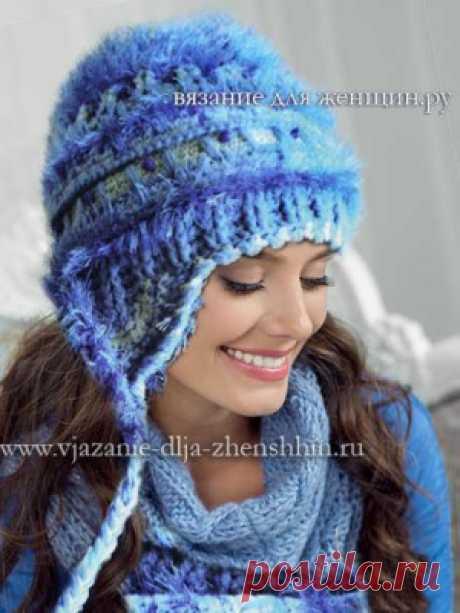 Вязание шапки крючком для женщин с описанием