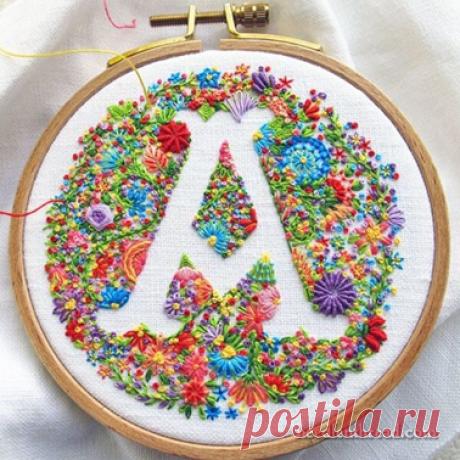 23 вышивки, где пяльца вместо рамки | Embroidery art | Яндекс Дзен