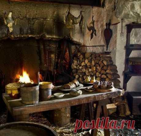 древняя кухня