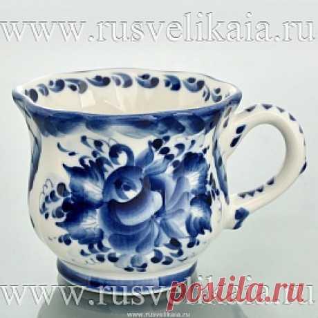 Bokalchik Gzhel infantil, el arte. 0024640 - comprar Posudnaya el grupo en la tienda de los regalos la Rusia GRANDE