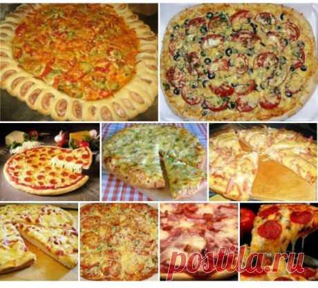 9 recetas para los aficionados de la pizza