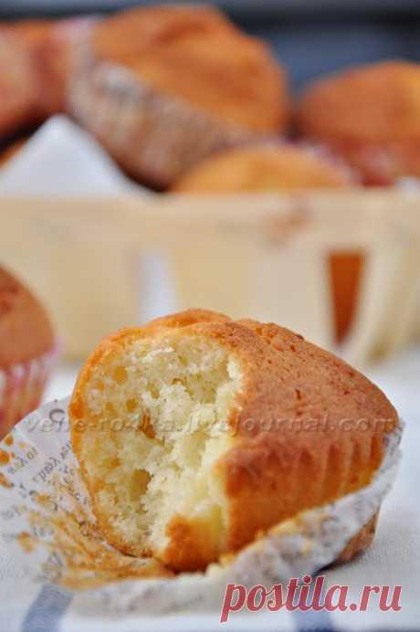 Творожные кексы (мои самые любимые) Очень люблю эти нежные, воздушные кексы с творожно-сливочным вкусом. Рецепт проверен миллион раз, получаются очень вкусными и готовятся просто и быстро. Любители…
