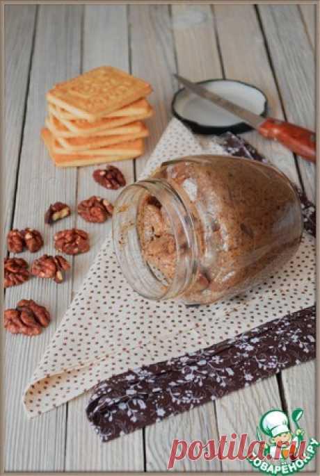 Паста из грецких орехов - кулинарный рецепт