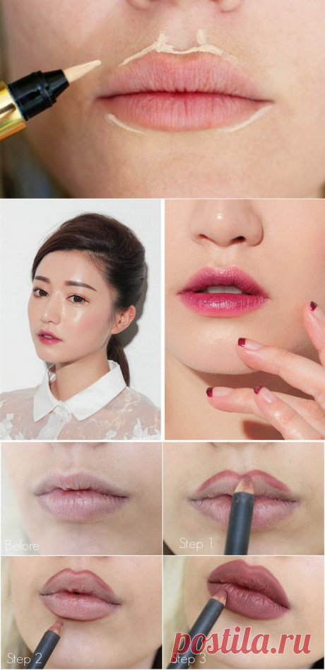 10 useful cunnings which will increase lips without pricks