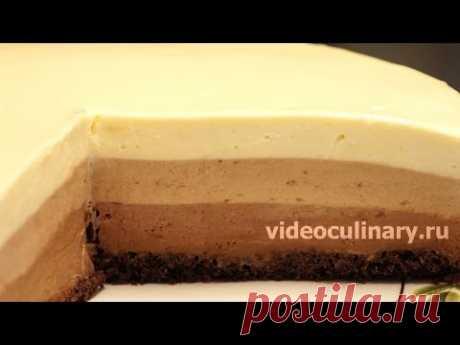 La torta Tres chocolate - la Receta de la Abuela Ema